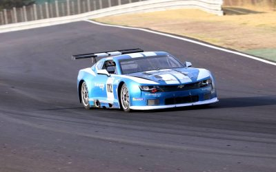 The Transam Euro Camaro dazzles during the 4th meeting of the CER-GT at Jarama